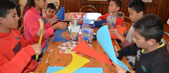 July School Holiday Drop-In Craft Activities - Matariki Kite