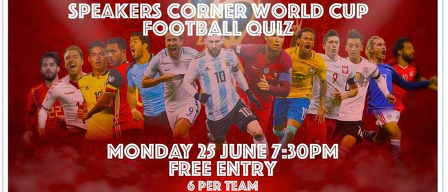 Speakers Corner World Cup Quiz