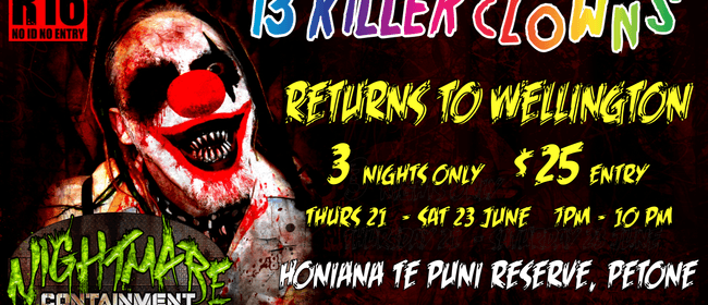 Nightmares Containment Haunted Attraction Returns