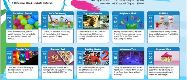 Skids Rotokawa July Holiday Programme