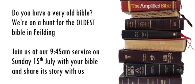 Bring A Bible Sunday