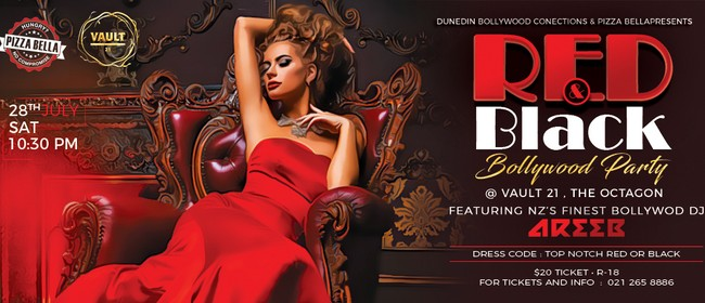 Bollywood Party - Black and Red
