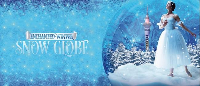 Enchanted Winter Snow Globe