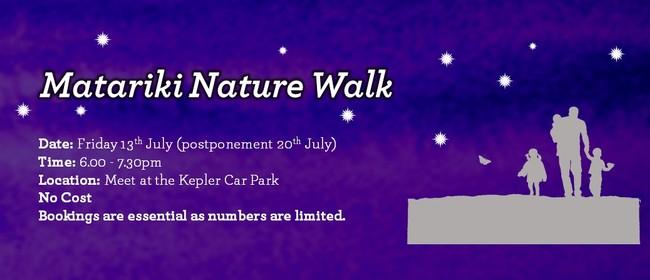 Matariki Nature Walk