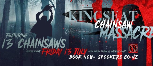 Friday The 13th - Kingseat Chainsaw Massacre R16