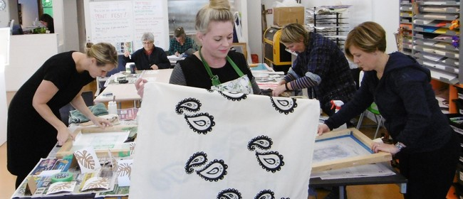 Weekly Screen Printing Evening Classes