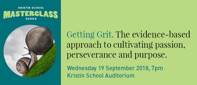"Kristin School Masterclass ""Getting Grit"""