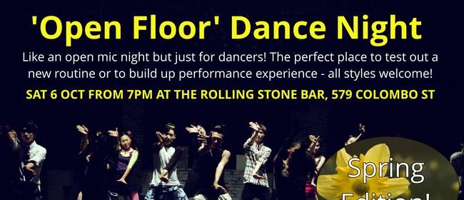 Open Floor Dance Night - Spring Edition