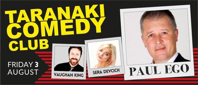 Taranaki Comedy Club August 2018