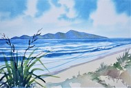 July School Holidays Art Classes - Paint Kapiti Island