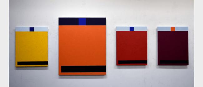 Milan Mrkusich Chromatic Works 2003 Art Exhibition