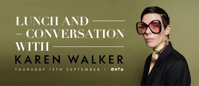 Lunch and Conversation with Karen Walker