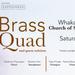 Brass Quad Whakatane Concert