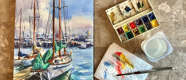 Make.Do - Watercolour Classes for Adults