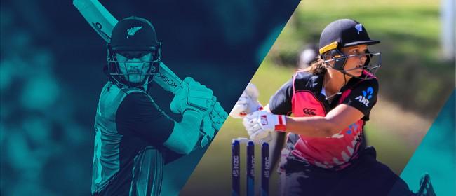 Blackcaps & White Ferns v India - 3rd T20