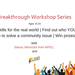 How to be an Effective Leader - Youth Breakthrough Workshop
