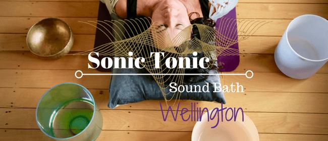 Sonic Tonic Sound Bath