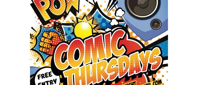 POW! Comic Thursday's (Plus Open Mic Comedy)