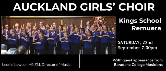 Auckland Girls' Choir Annual Concert