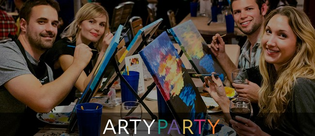 Artyparty - Give Art a Go! Paint Banksy's Balloon Girl