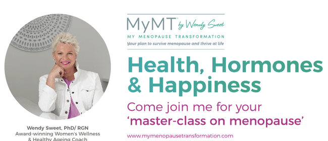 Masterclass on Menopause by Dr. Wendy Sweet