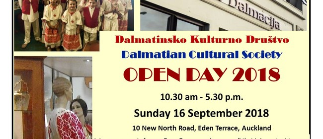 Dalmatian Cultural Society Open Day 2018