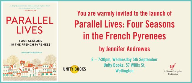Launch - Parallel Lives by Jennifer Andrewes