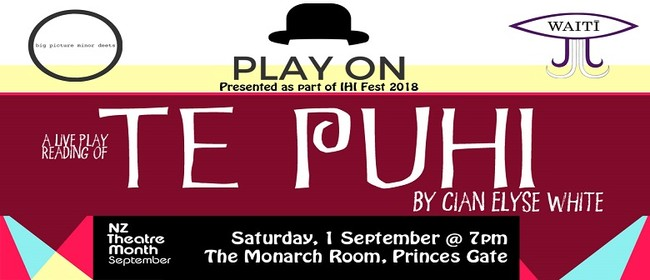 Play On: Te Puhi by Cian Elyse White
