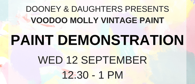 Dooney & Daughters - Furniture Paint Demonstration