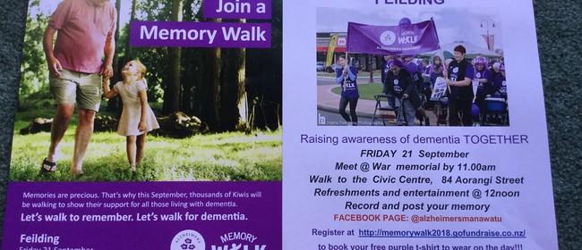 Feilding Memory Walk