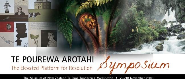 Te Pourewa Arotahi Symposium