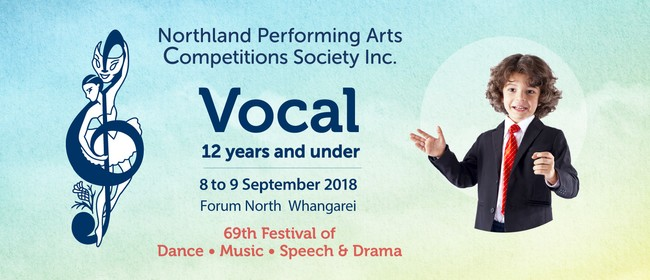 Northland Performing Arts Competitions: Vocal Under 12 Years