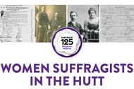 Women Suffragists In the Hutt