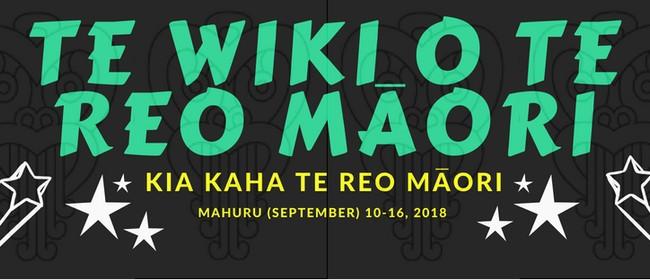 Te Wiki o Te Reo Maori - Introduction to Te Reo