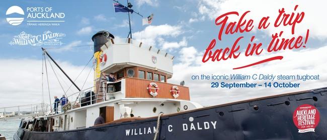 Auckland Heritage Festival: POAL Heritage Tugboat Sailings