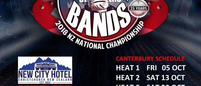 Battle of the Bands 2018 National Championship - CHCH Heat 1