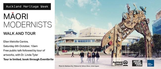Auckland Heritage Week - Māori Modernism Talk and Tour