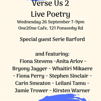 Verse Us - Live Poetry
