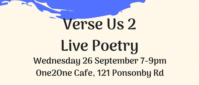 Verse Us - Live Poetry