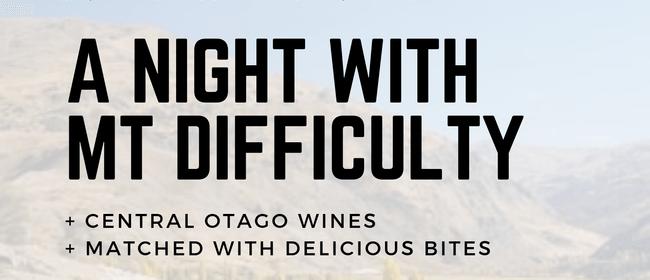 Mt Difficulty in Mt Albert - Wine & Food Tasting