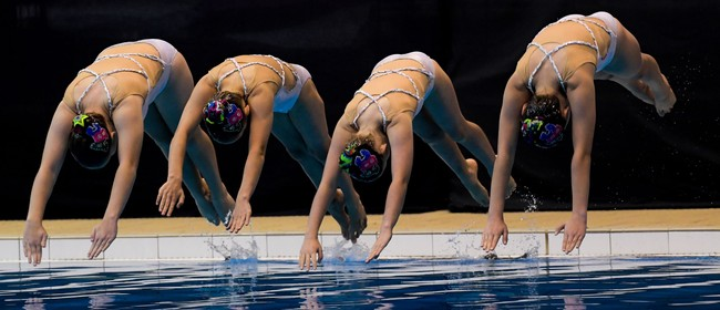 Tauranga Synchro - Synchronised Swimming Display