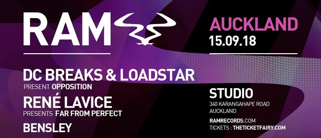 RAM Records ft. DC Breaks & Loadstar, Rene Lavice & Bensley