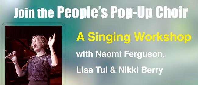 The People's Pop Up Choir - Workshop