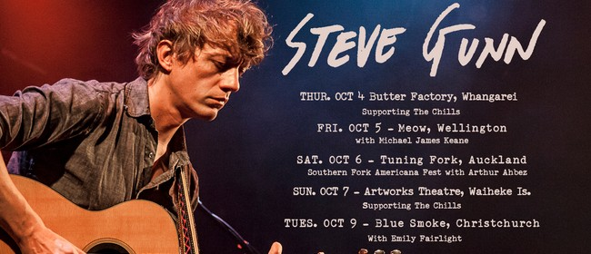 Steve Gunn (USA) NZ Tour