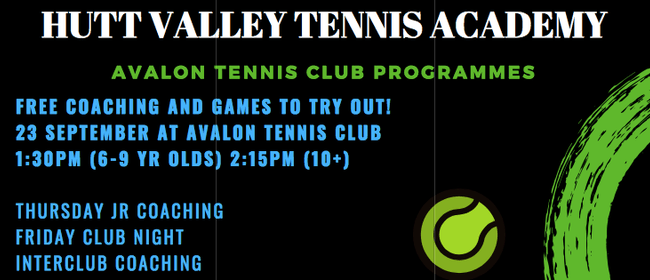 Tennis Coaching and Games to Try Out