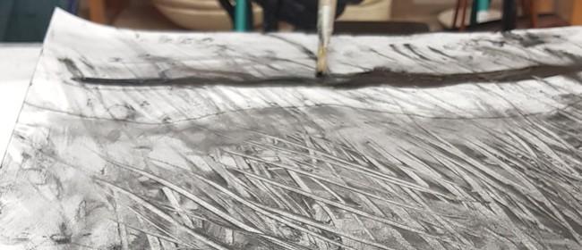 Studio One Toi Tū - A-Z Charcoal Drawing