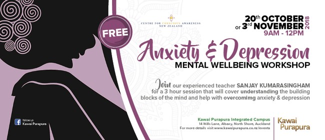 Anxiety and Depression - Mental Wellbeing Workshop