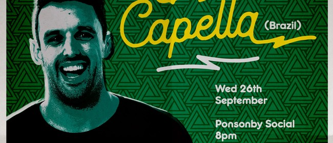 Stand Up Comedy with Rodrigo Capella (Brazil)