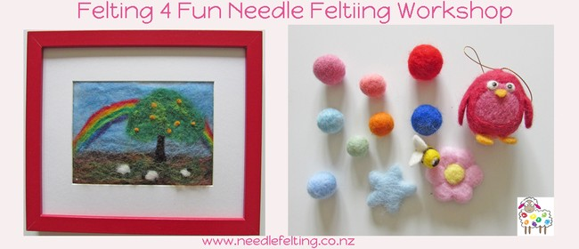 Family Needle Felting Workshop