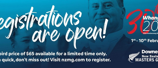 Downer New Zealand Masters Games